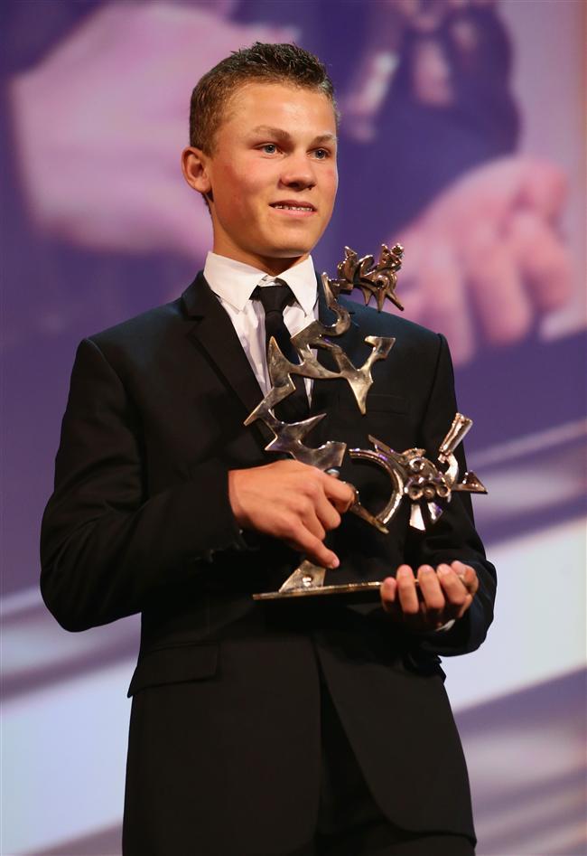 Marcello Mastroianni En İyi Genç Oyuncu Ödülü: Romain Paul, Le Dernier Coup de Marteau, Fransa  Romain Paul