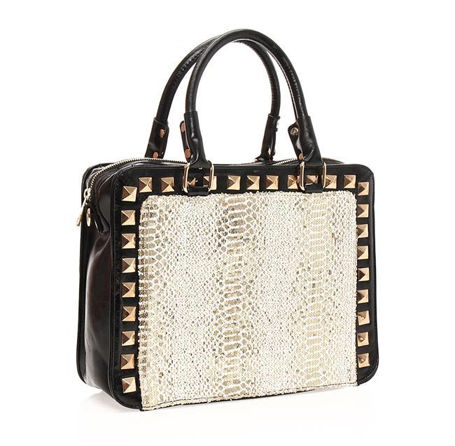 Siyah günlük çanta