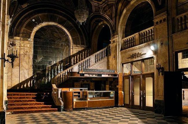 Detroit'te bir sinema salonu