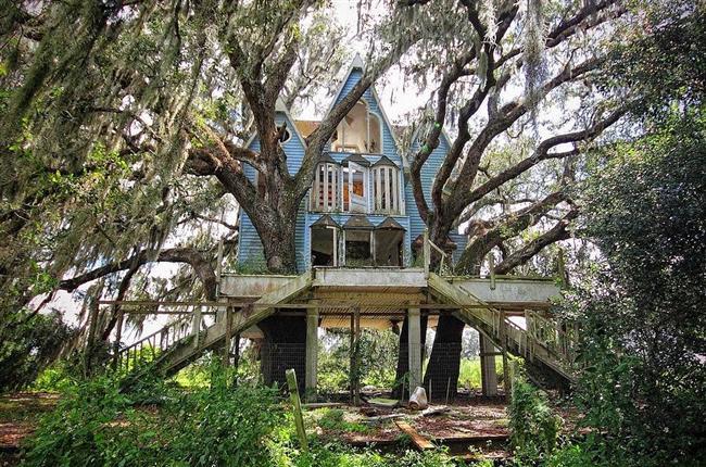 Victorian Tarzı Ağaç Ev - Florida, USA