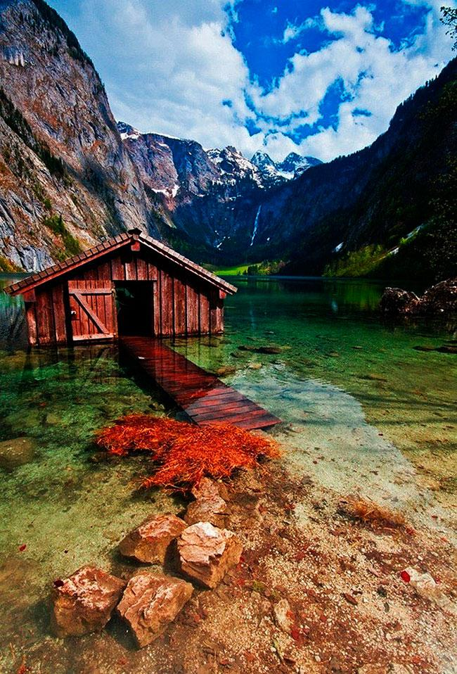 Gölevi, Obersee Gölü, Germany