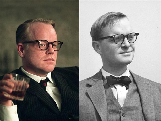 Philip Seymour Hoffman  Capote filminde Truman Capote karakterinde.
