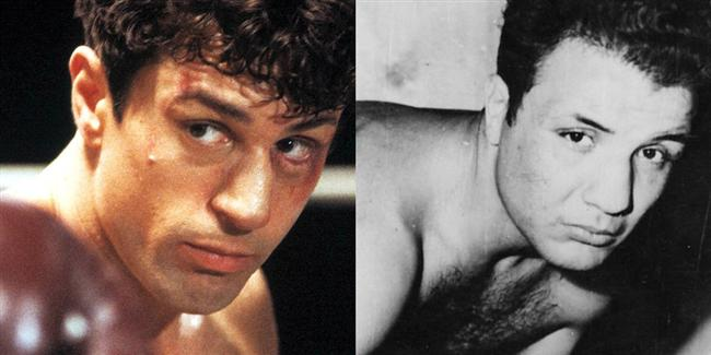 Robert De Niro  Kızgın Boğa filminde Jake La Motta karakterinde.