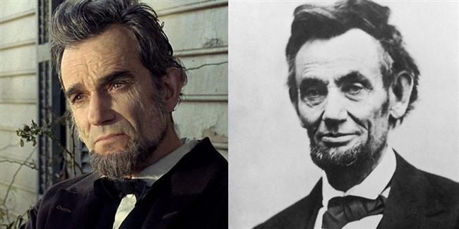 Daniel Day-Davis  Lincoln filminde Abraham Lincoln karakterinde.
