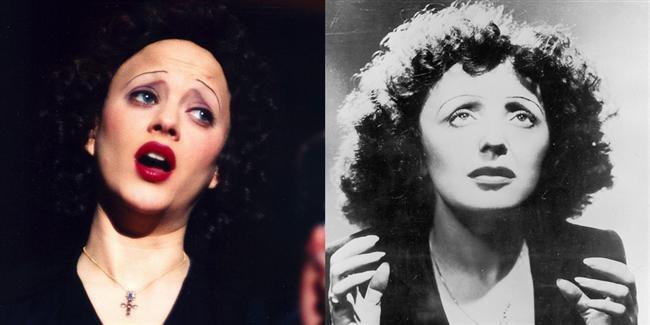 Marion Cotillard  Kaldırım Serçesi filminde Edith Piaf karakterinde.