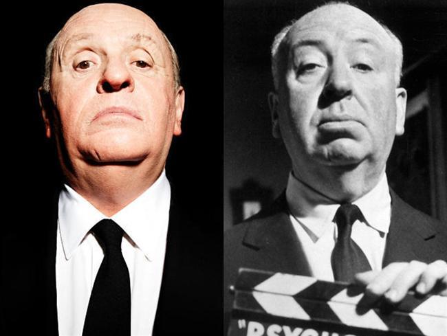 Anthony Hopkins  Hitchcock filminde Alfred Hitchcock rolünde.