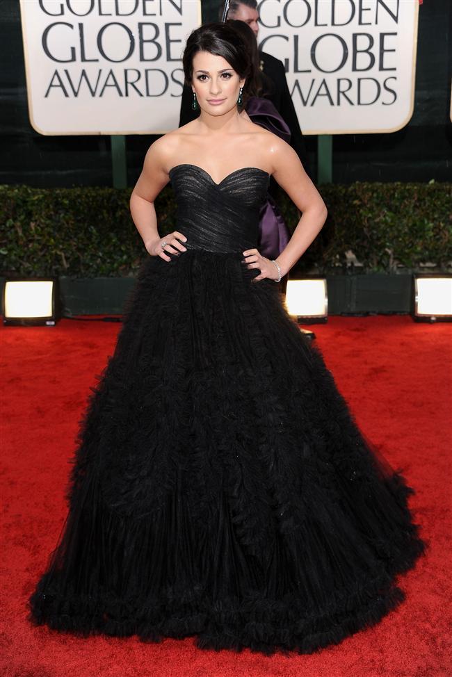 İşte ünlü modacının en iyi tasarımları...  Lea Michele