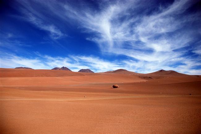 Şili'deki Atacama Çölü'ne bugüne dek hiç yağmur yağmamış.