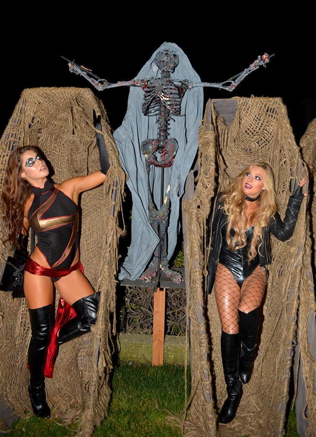 Ünlülerin Cadılar Bayramı Kostümleri - 8