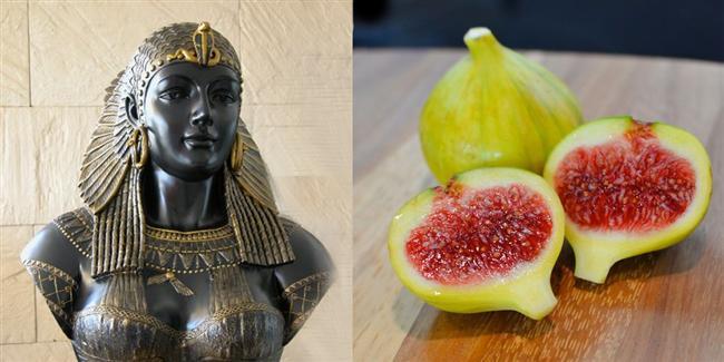 9. Kleopatra  İsmi efsanelere konu olmuş, güzel miydi çirkin miydi konusunda açık oturumların yapıldığı Kleopatra, ölümünden önce humus ve incir yediği söyleniyor.