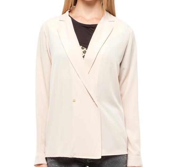 Beyaz blazer ceket