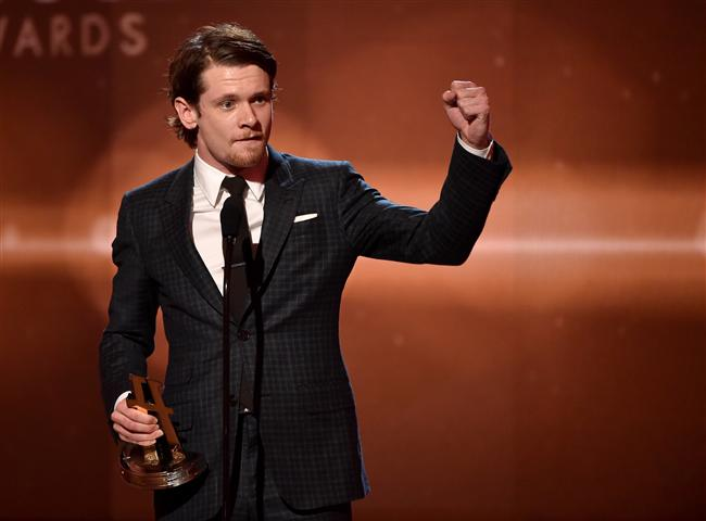Yeni Hollywood ödülü: Jack O'Connell, Unbroken