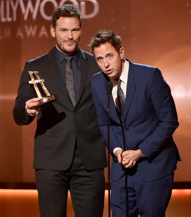 Hollywood kapalı gişe ödülü: Guardians of the Galaxy / Chris Pratt ve James Gunn