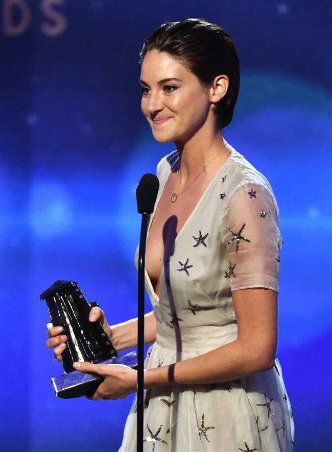 Hollywood en iyi çıkış yapan aktris ödülü: Shailene Woodley, The Fault in Our Stars