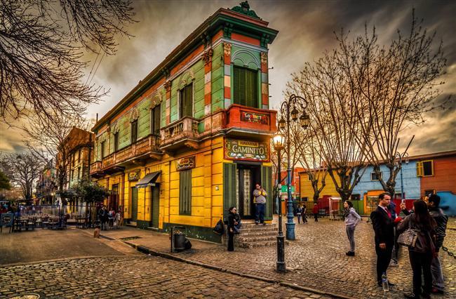 10. Caminito, Buenos Aires
