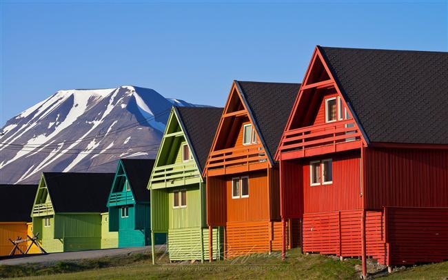 13. Longyearbyen, Svallbard, Norveç