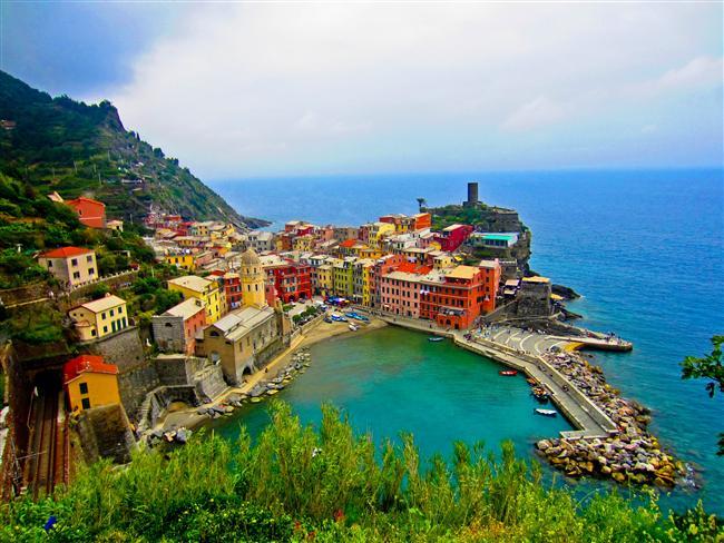 1. Cinque Terre, İtalya