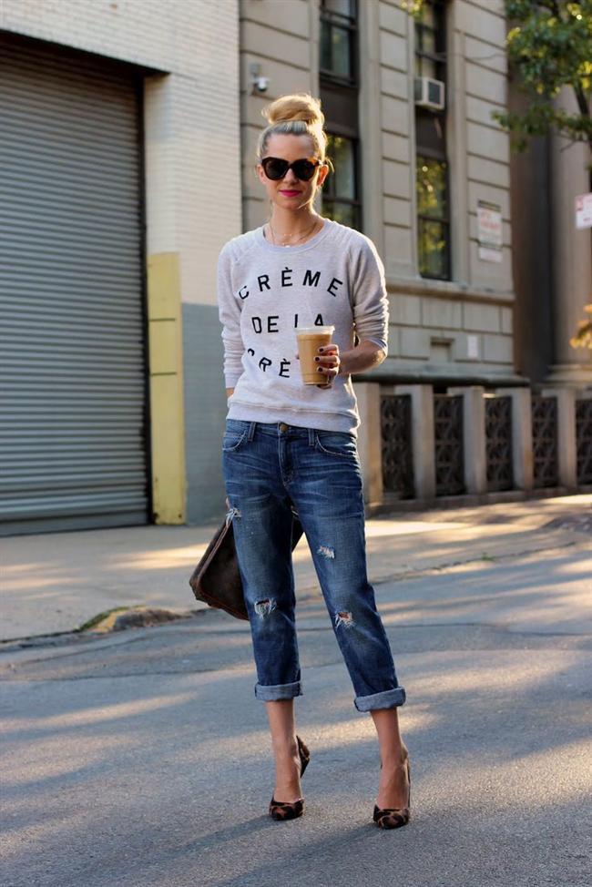 3. Düşük pantolonlu kot içine giyilen yüksek belli iç çamaşırı sıkıntısı.