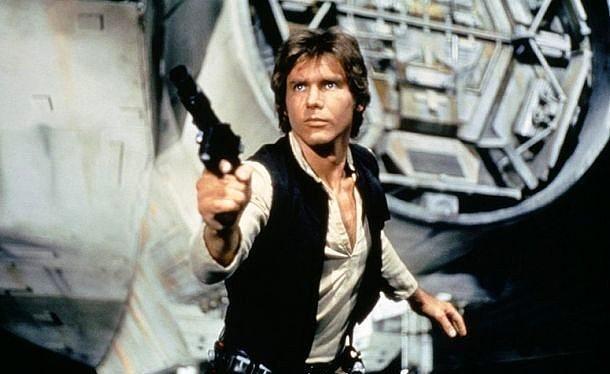 Han Solo  Yıldız Savaşları / Star Wars (1977) Canlandıran: Harrison Ford