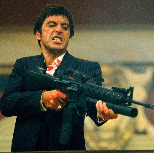 Tony Montana  Yaralı Yüz / Scarface (1983) Canlandıran: Al Pacino