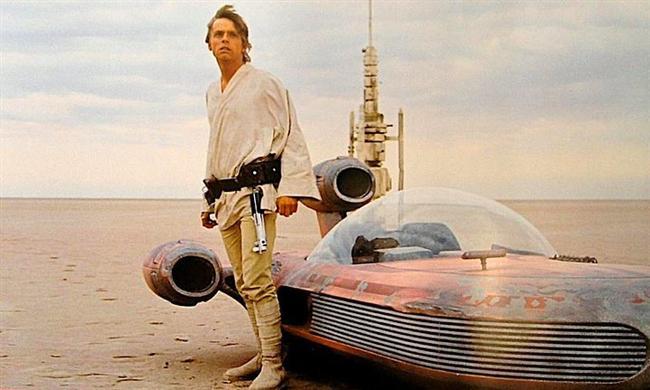 Luke Skywalker  Yıldız Savaşları / Star Wars (1977) Canlandıran: Mark Hamill