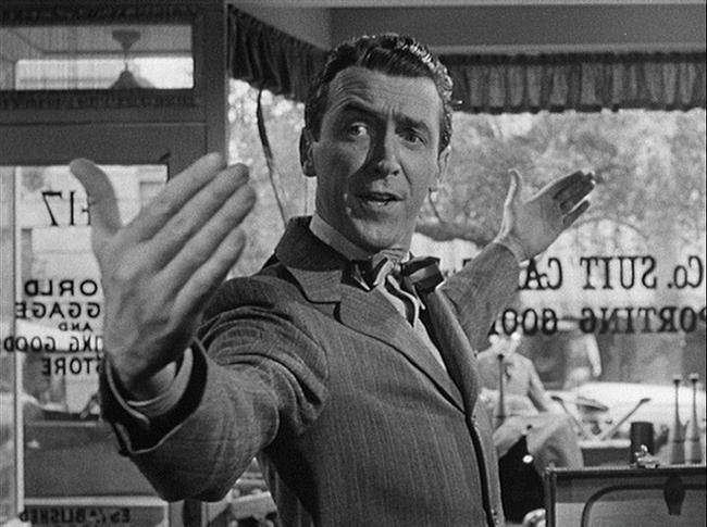 George Bailey  Şahane Hayat / It's a Wonderful Life (1946) Canlandıran: James Stewart