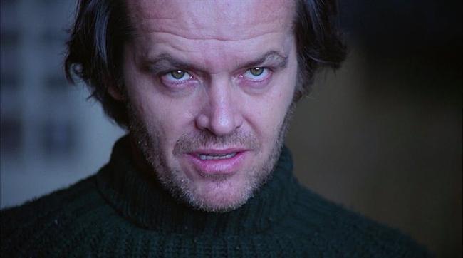 Jack Torrance  Cinnet / The Shining (1980) Canlandıran: Jack Nicholson
