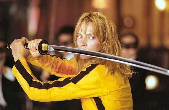 The Bride  Kill Bill: Vol. 1 (2003) Canlandıran: Uma Thurman