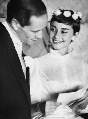 Audrey Hepburn-Mel Ferrer