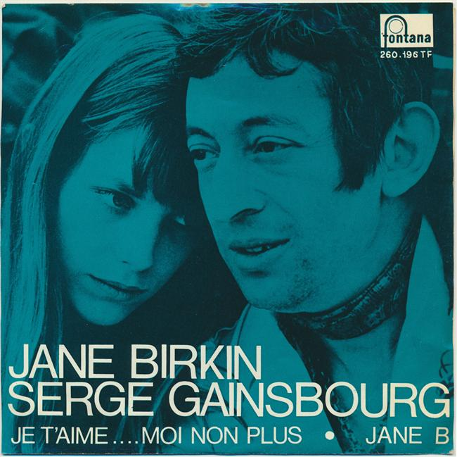 9. Serge Gainsbourg – Je T`aime