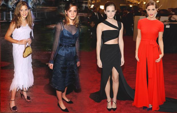 """2002 yılında ilk olarak """"Harry Potter"""" filmiyle hayatımıza giren Emma Watson'ı yıllar hep bir adım öteye taşıdı. Şimdilerde güzelliğinin zirvesinde. Emma Watson'ı kabarık saçlarıyla ilk kez gördüğümüzde henüz 11 yaşındaydı. Aradan geçen 13 yıl onun ününe ün, güzelliğine ise güzellik kattı. 10 parmağında 10 marifet olan Watson, şimdilerde kadın haklarının en güçlü savunucularından biri. Birleşmiş Milletler Kadın Güçlenmesi Birimi'nin ise yeni iyi niyet elçisi. İşte güçlü ve stil sahibi Emma Watson'ın değişimi..."""