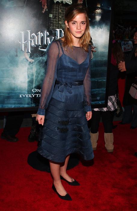 Emma Watson'ın 2005 yılındaki stili