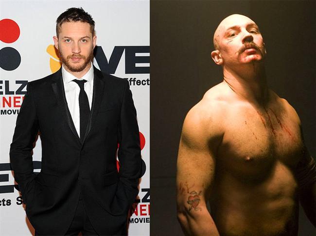Tom Hardy - Bronson (2008)  Charles Bronson karakteriyle Tom Hardy, önemli oranda kilo almış ve performansıyla dikkat çekmişti.