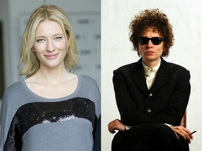 Cate Blanchett - Beni Orada Arama / I'm Not There. (2007)  Cate Blanchett , efsane şarkıcı Bob Dylan'ın hayatının anlatıldığı filmde Dylan'ın bir dönemini canlandırmıştı.
