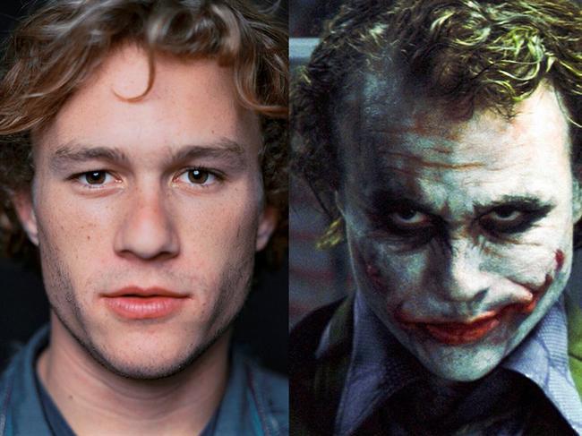 Heath Ledger - Kara Şövalye / The Dark Knight (2008)  Unutulmayacak performansıyla Ledger adeta Joker karakterinin ta kendisi olmuştu. Hayatını kaybettikten sonraysa En İyi Yardımcı Erkek Oyuncu Oscar'ı layık görüldü.