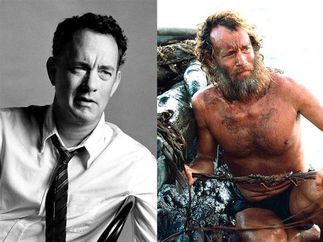 Tom Hanks - Yeni Hayat / Cast Away (2000)  Issız bir adada yaşam mücadelesi veren Chuck Noland adlı karakteri canlandıran Tom Hanks, bu rolüyle En İyi Erkek Oyuncu dalında Oscar'a aday gösterilmişti.