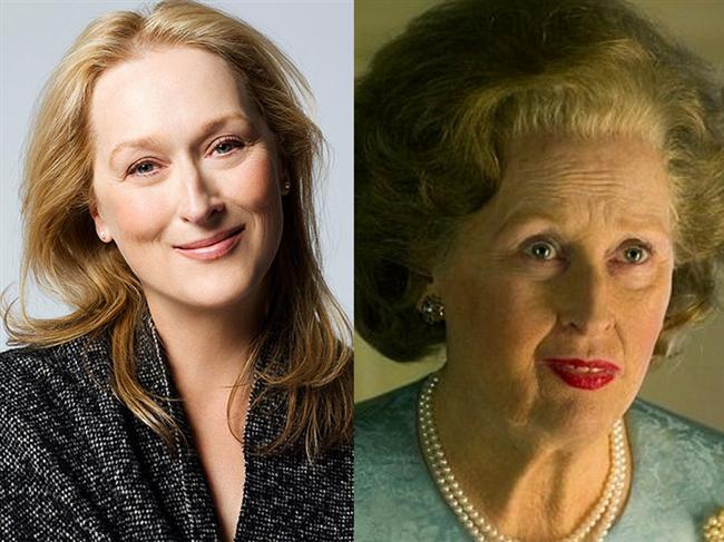 Meryl Streep - Demir Leydi / The Iron Lady (2011)  İngilizlerin Demir Leydi lakaplı ünlü başbakanı Margaret Thatcher'ı canlandırdığı rolüyle Meryl Streep, Oscar heykelciklerine yenisi eklemişti.