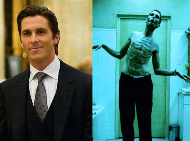 Christian Bale - Makinist / The Machinist (2004)  Christian Bale, Trevor Reznik karakterine bürünebilmek için 30 kilo vermişti.