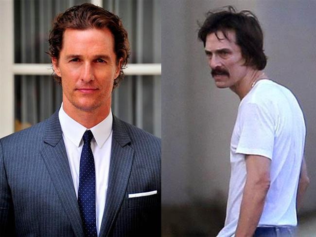 Matthew McConaughey - Sınırsızlar Kulubü / Dallas Buyers Club (2013)  Matthew McConaughey, uğruna 23 kilo verdiği bu karakteri başarılı bir şekilde canlandırarak En İyi Erkek Oyuncu Oscar'ını elde etmişti.