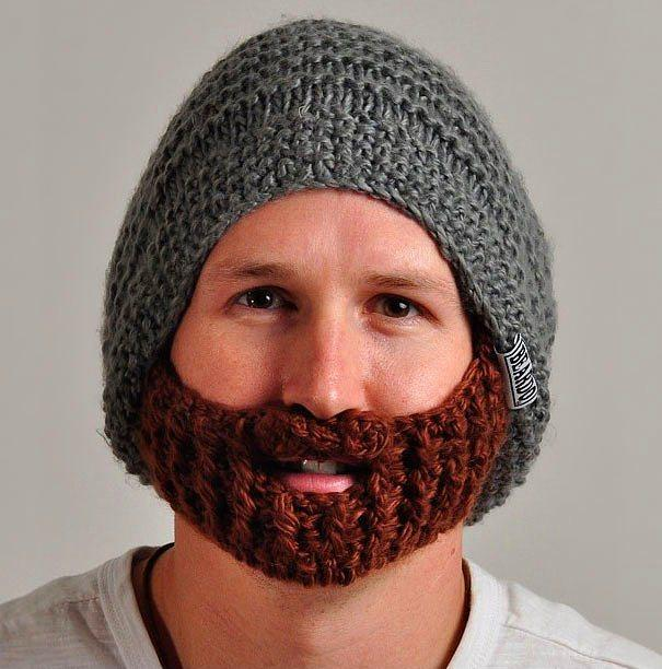 Hipster olmak için ekstra uğraşa gerek yok, kendinden sakallı!