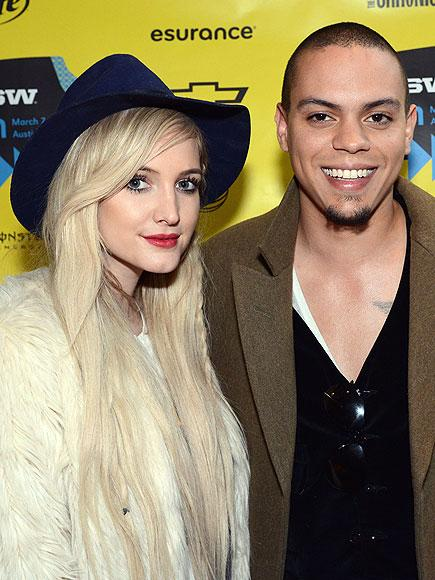 Ashlee Simpson ve Evan Ross