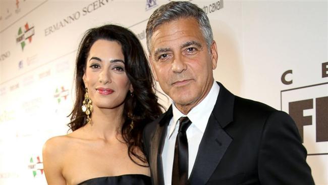 George Clooney ve Amal Alamuddin
