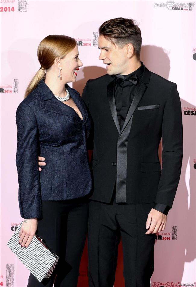 Scarlette Johansson ve Romain Dauriac