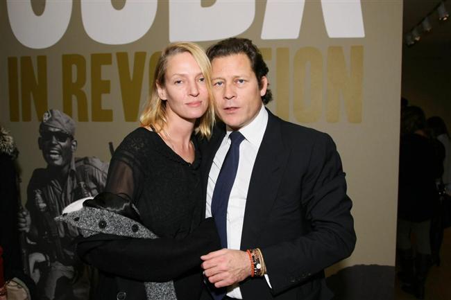 Uma Thurman, nişanlısı Arpad Bousson'dan ayrıldı. Yeni doğa kızları da çifti bir arada tutamadı.