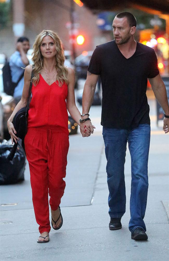 Heidi Klum önce koruması sonra sevgilisi olan Martin Kristen ile yollarını bu yılın başında ayırdı.