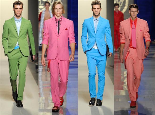 Renk olayını abartmak; aşırı renkli kombinler