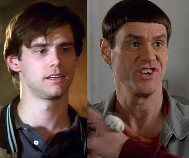 1992'de Doing Time on Maple Drive ile ekranlardaki yerini aldığında Jim Carrey 30 yaşındaydı. Son filmi Salak ile Avanak Geri Dönüyor'da 52 yaşında.