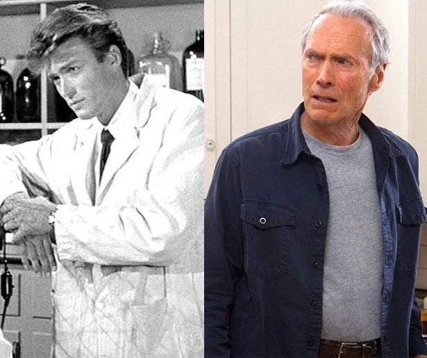 Clint Eastwood 1955 yapımı Revenge of the Creature'da 25 yaşındaydı. Son filmi Hayatımın Atışı'nda 82 yaşında.