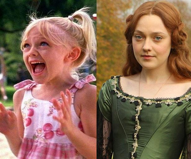 Dakota Fanning 2001'de 7 yaşındayken Tomcats adlı filmde oynamıştı. Şimdiyse yakında izleme fırsatı bulacağımız Effie Gray filminde 20 yaşında.
