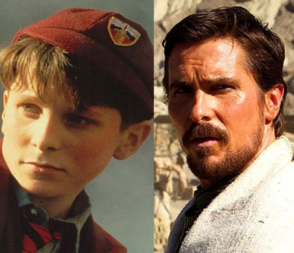Christian Bale 13 yaşında 1987 yapımı Güneş İmparatorluğu'nda başrol oynamıştı. Günümüzde 40 yaşında ve yakında Exodus: Gods and Kings filminde izleyeceğiz.